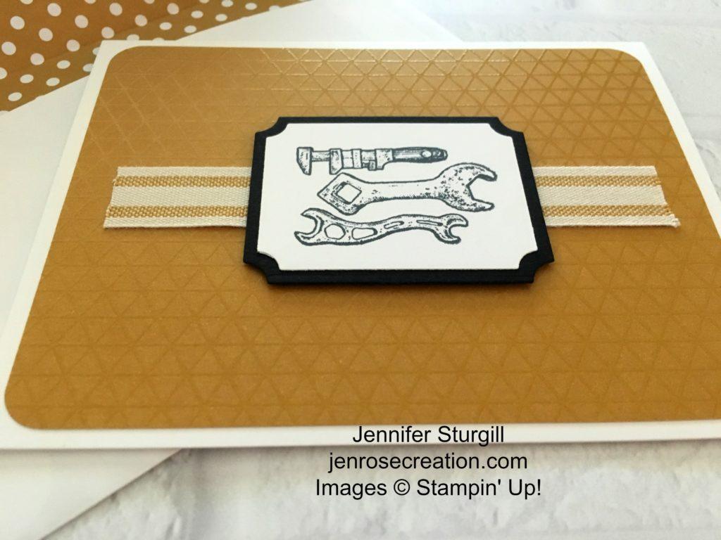 Fathers Day, Jen Rose Creation, Stampin' Up!, Jennifer Sturgill, Guy Greetings