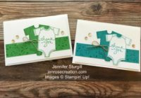 Baby Thank You, Jen Rose Creation, Stampin' Up!, Jennifer Sturgill, Made With Love, Endless Thanks, Awesomely Artistic, Baby Boy, Baby Shower, Thank You, StampinUp