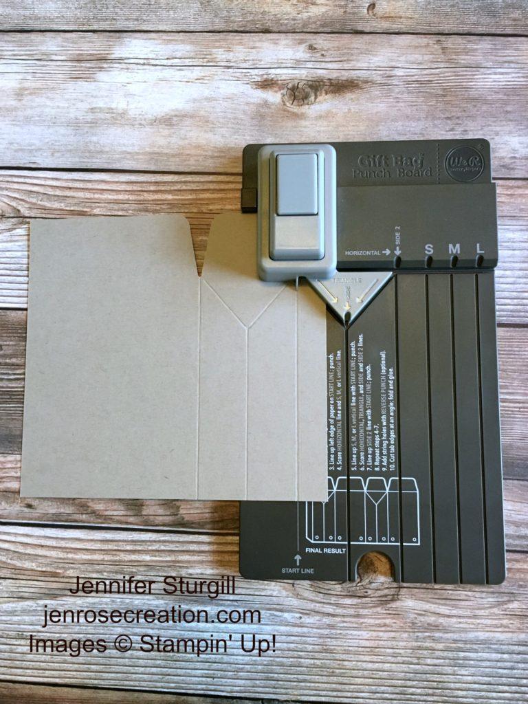 Gift Bag Step 3, Jen Rose Creation, Stampin' Up!, Jennifer Sturgill, StampinUp