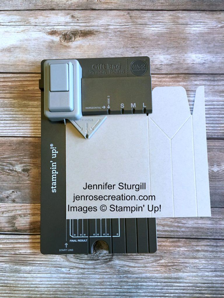 Gift Bag Step 4, Jen Rose Creation, Stampin' Up!, Jennifer Sturgill, StampinUp