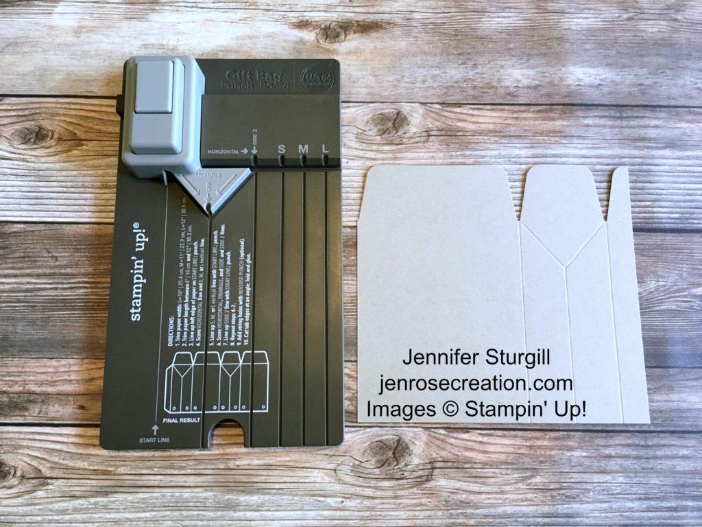 Gift Bag Step 5, Jen Rose Creation, Stampin' Up!, Jennifer Sturgill, StampinUp