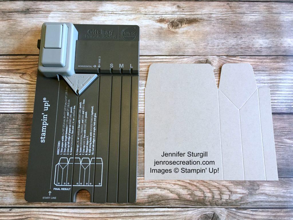 Gift Bag Step 6, Jen Rose Creation, Stampin' Up!, Jennifer Sturgill, StampinUp