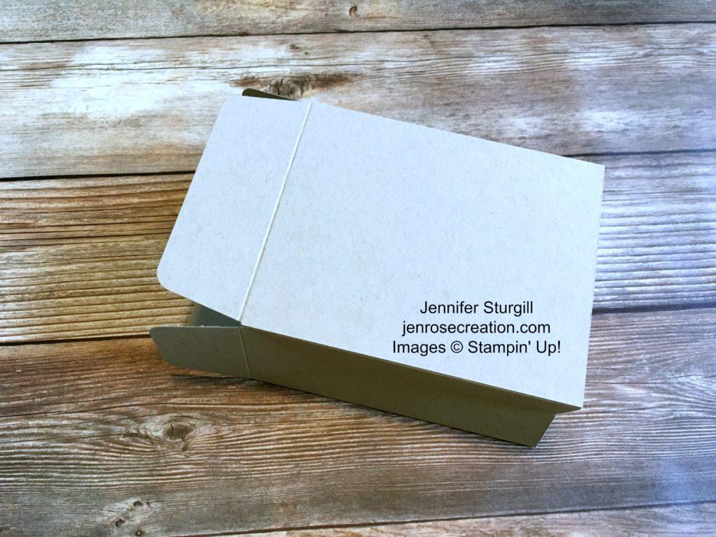 Gift Bag Step 8, Jen Rose Creation, Stampin' Up!, Jennifer Sturgill, StampinUp