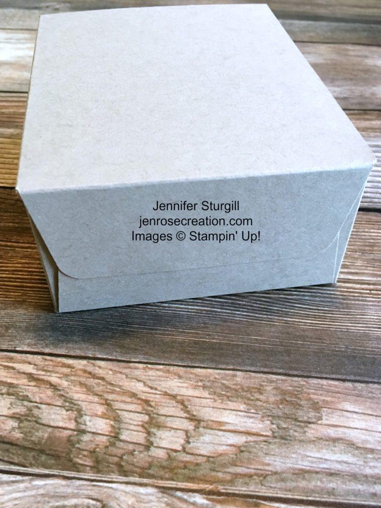 Gift Bag Step 9, Jen Rose Creation, Stampin' Up!, Jennifer Sturgill, StampinUp
