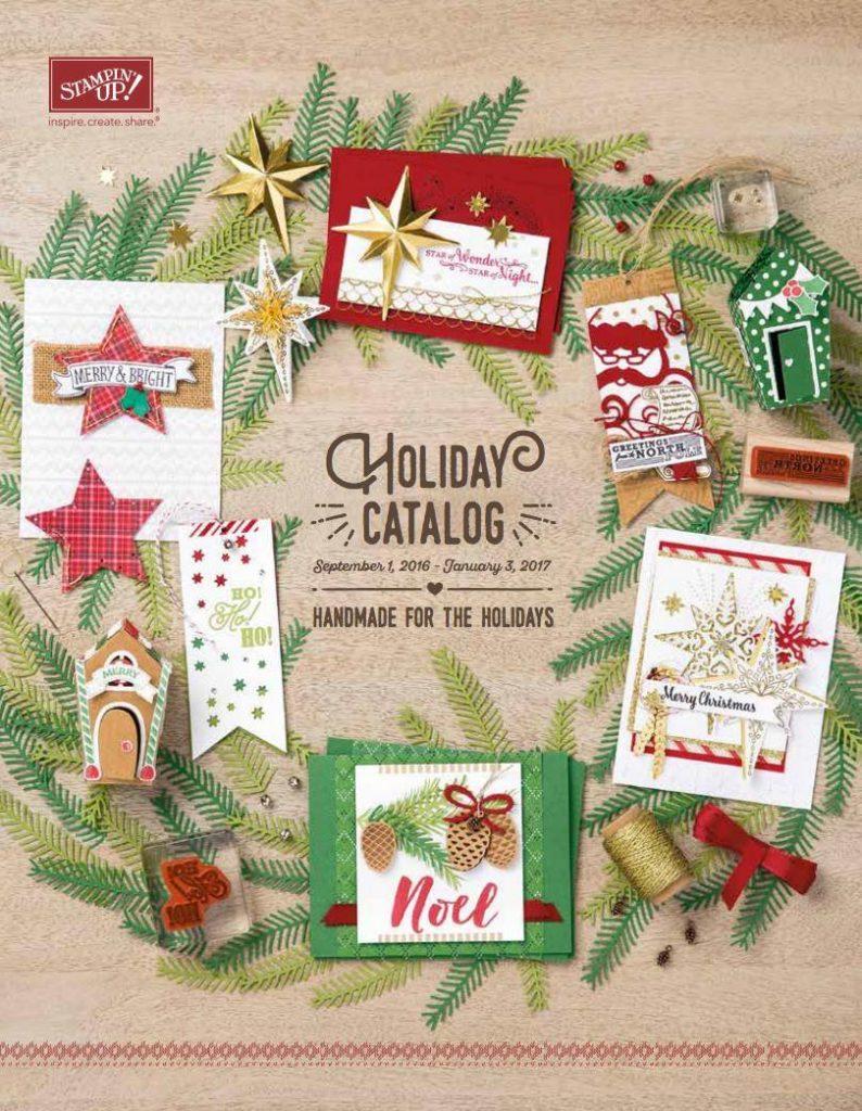 Holiday Catalog, Stampin' Up!, Jen Rose Creation, Jennifer Sturgill, Christmas